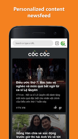 Cốc Cốc Browser 77.0.112 Screen 13