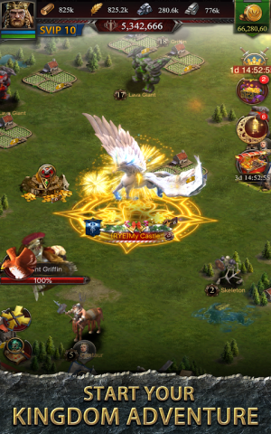 Android Clash of Kings : Newly Presented Knight System Screen 7