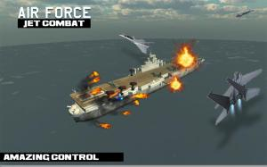 Android air force jet fighter combat Screen 7