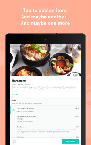 Deliveroo: Food Delivery 3.25.0 Screen 1