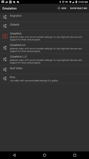 Mupen64Plus FZ (N64 Emulator) 3.0.222 (beta) Screen 5