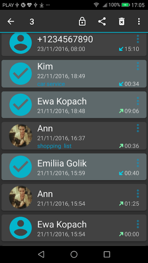 Android Call Recorder Screen 4