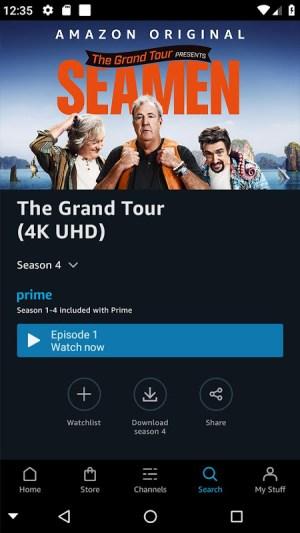 Amazon Prime Video 3.0.301.8547 Screen 1