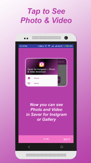 Saver for Instgram – Photo & video download 1.6 Screen 3