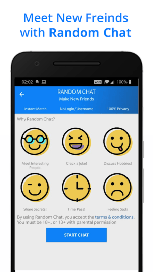 Android Messenger for Messages, Text and Video Chat Screen 6