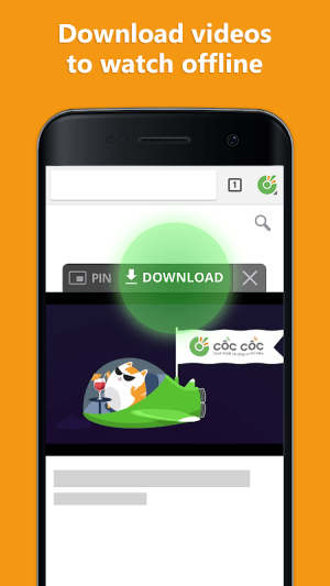 Cốc Cốc Browser 83.0.176 Screen 3