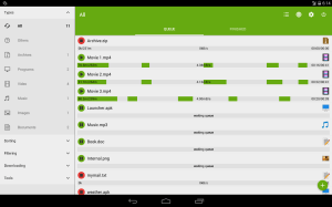 Android Advanced Download Manager Screen 1