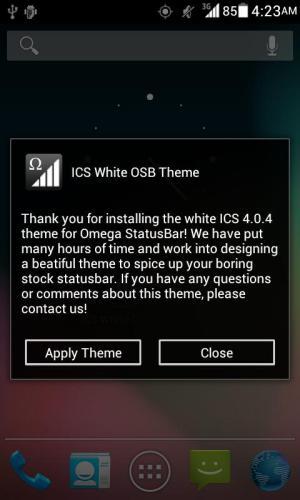 ICS White OSB Theme 1.1 Screen 6