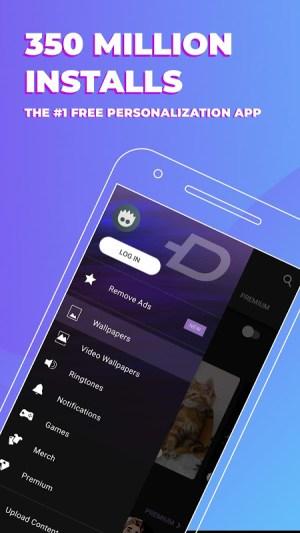 ZEDGE™ Ringtones & Wallpapers 5.75b1 Screen 3