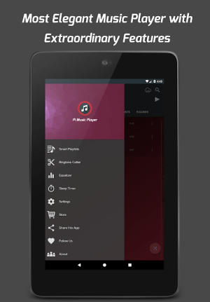 Pi Music Player - Free MP3 Player & YouTube Music 3.1.1.0c Screen 2