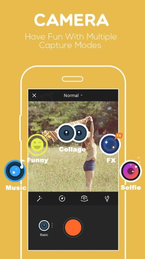 Android VivaVideo: Free Video Editor Screen 1