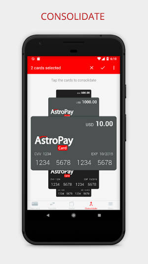 AstroPay Card 1.16 Screen 3
