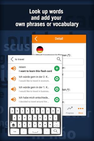 Learn German with MosaLingua 10.42 Screen 4