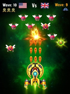 Space shooter - Galaxy attack - Galaxy shooter 1.407c Screen 13