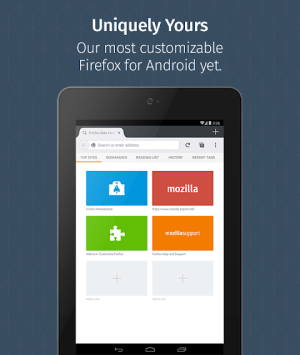 Firefox for Android Beta 68.4 Screen 3
