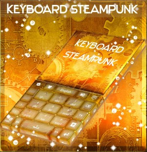 Android Steampunk Keyboard GO Screen 3