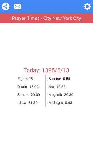 BadeSaba Persian Calendar Ghoghnous - 11.0.1 Screen 3