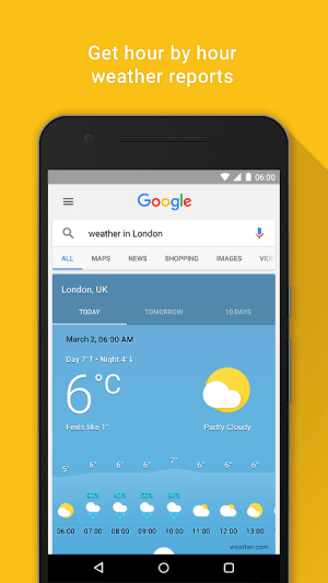 Android Google Screen 11