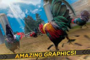 Wild Rooster Run - Frenzy Chicken Farm Race 2.11.9 Screen 1