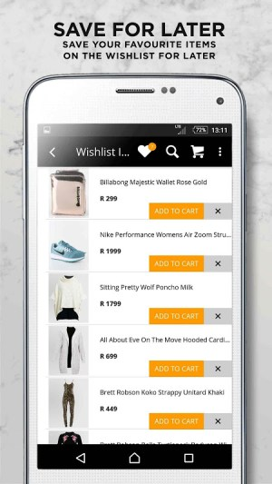 Online Fashion Shopping Zando 1.4.1 Screen 4
