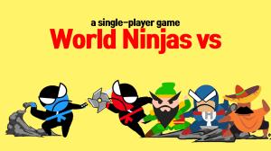 Jumping Ninja Battle - Two Player battle Action 3.95 Screen 2