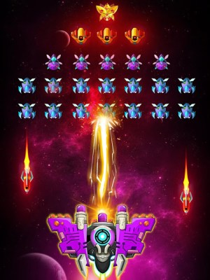 Space shooter - Galaxy attack - Galaxy shooter 1.407c Screen 4