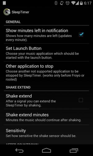 Sleep Timer (Turn music off) 2.0.3 Screen 11
