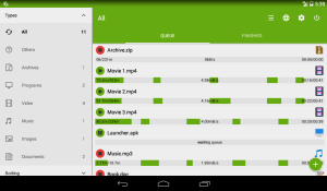 Android Advanced Download Manager Screen 3