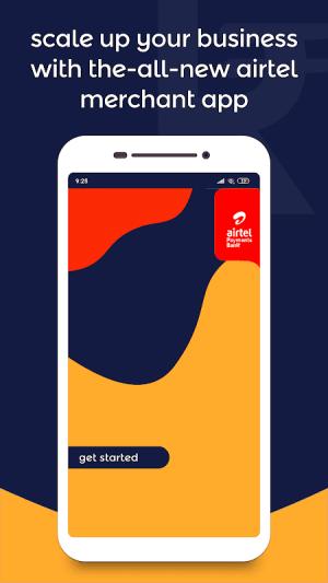 Android Airtel Merchant Screen 3