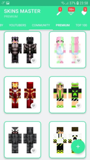 Android Skins MASTER for MINECRAFT (30 000 Skins) + Editor Screen 3