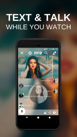Rave – Netflix & YouTube with Friends 3.10.4 Screen 1