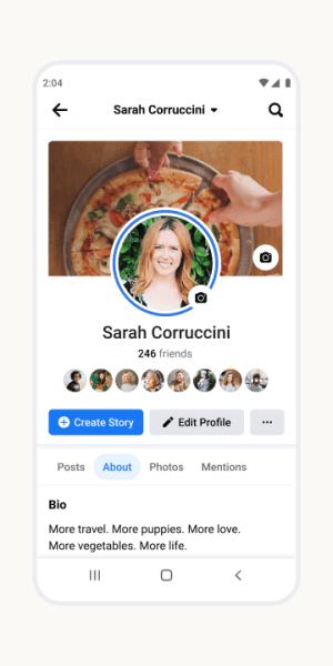 Facebook 338.0.0.2.118 Screen 3