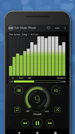 Android Dub Music Player - Free Audio Player, Equalizer 🎧 Screen 3