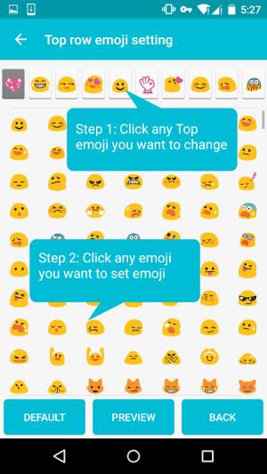 Cute Emoji Keyboard Premium - GIF, Emoticons 1.5.4.0 Screen 7