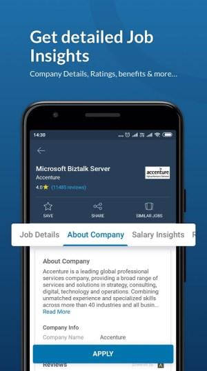Naukri.com Job Search 12.6 Screen 1