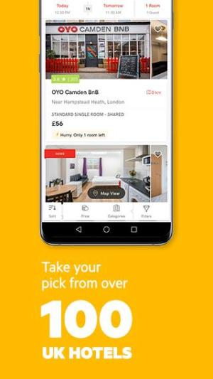 Find wallet-friendly OYO hotels across the world 5.2.32 Screen 4