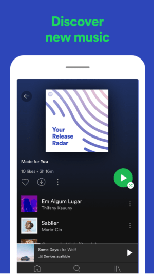 Spotify: Free Music and Podcasts Streaming 8.6.18.720 Screen 5