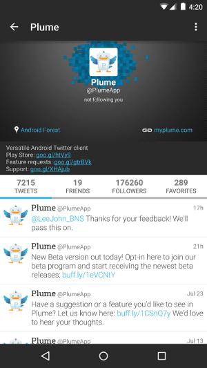Plume for Twitter 6.26.2 Screen 13