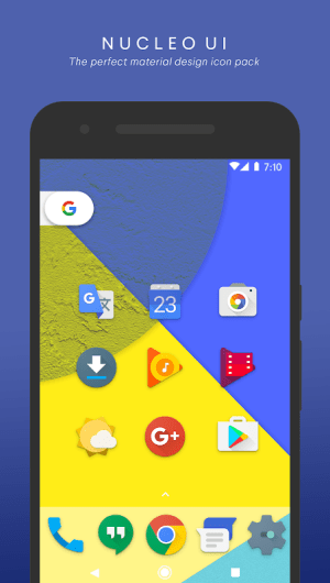 Android Nucleo UI - Icon Pack Screen 4