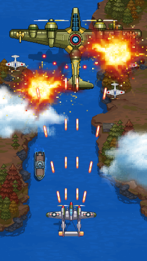 1945 Air Force: Airplane Shooting Games - Free 8.34 Screen 11