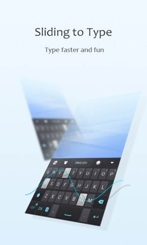GO Keyboard 3.02 Screen 4