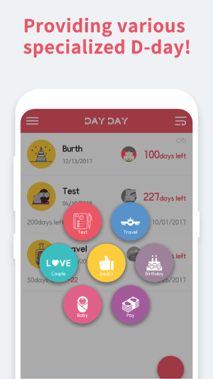 DAY DAY Widget - Events Countdown 1.00.31 Screen 3