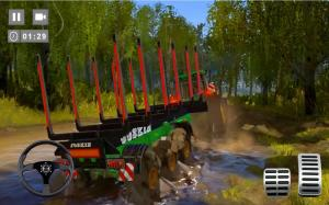 Android Cargo Tractor Trolley Simulator Farming Game 2020 Screen 1