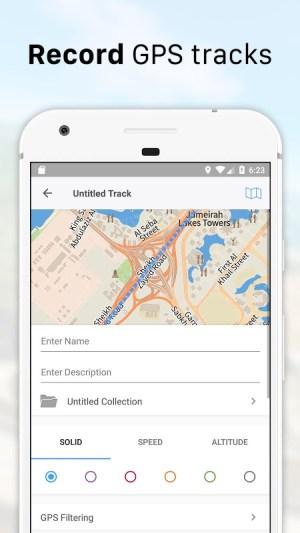 Guru Maps Pro - Offline Maps & Navigation 4.0.6 Screen 1