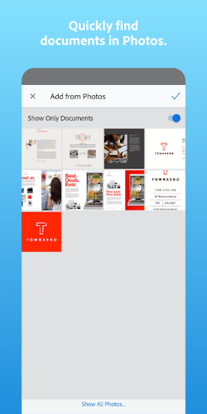 Adobe Scan: PDF Scanner with OCR, PDF Creator 20.12.09-galaxyStore Screen 8