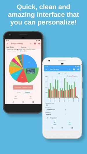 Bluecoins Finance: Budget, Money & Expense Manager 11.0.2 Screen 5