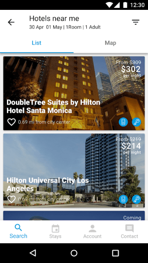 Hilton Honors 3.4.0 Screen 1