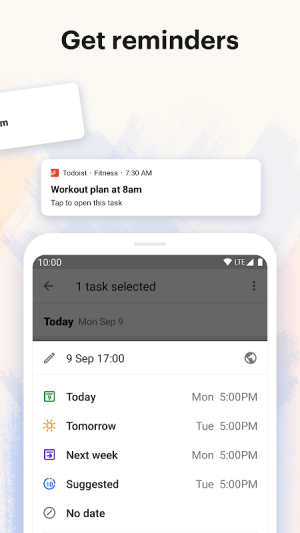 Todoist: To-Do List, Tasks & Reminders 15.0.2 Screen 4