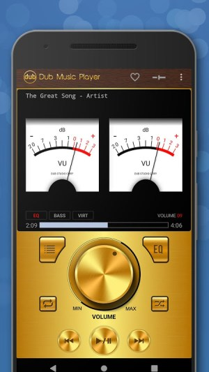 Android Dub Music Player - Free Audio Player, Equalizer 🎧 Screen 2