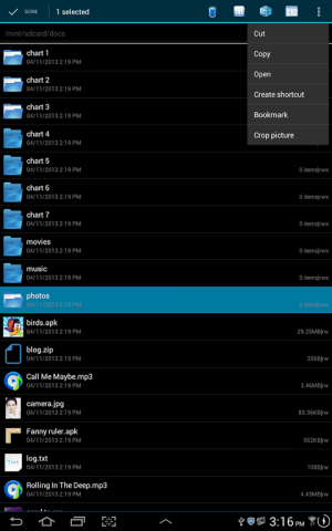 File Explorer 3.2.1 Screen 7
